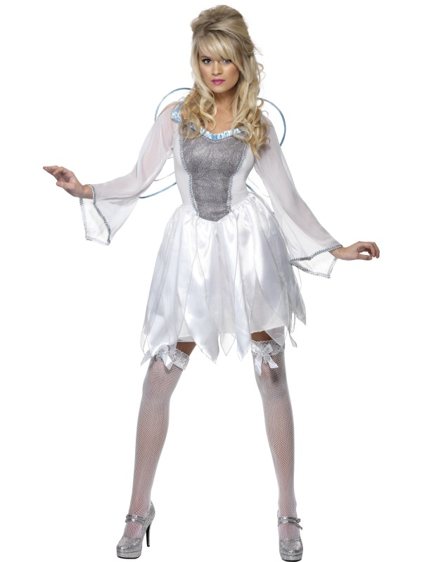 Adult Ladies Winter Fairy Costume | Plymouth Fancy Dress, Costumes and  Accessories