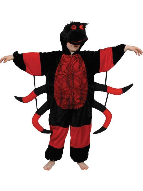 Child Black & Red Spider Costume