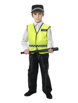 Boy's UK Policeman Costume