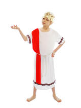 Boy's Roman Emperor Fancy Dress Costume