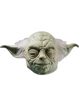 Star Wars Yoda Deluxe Latex Adult's Mask