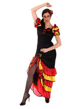 Ladies Spanish Rumba Costume