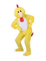 Men's Funky Chicken Jumpsuit Costume