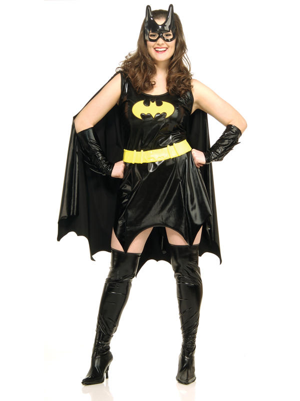 Batgirl Ladies Sexy Full Costume Thumbnail 2