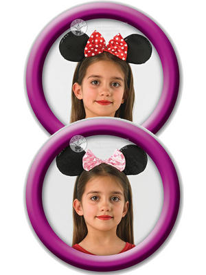 Disney Minnie Mouse Ears Headband Thumbnail 1