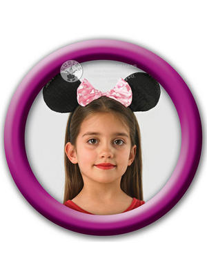Disney Minnie Mouse Ears Headband Thumbnail 2