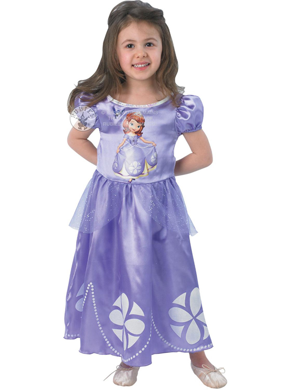 Disney Sofia The First Classic Girl's Costume