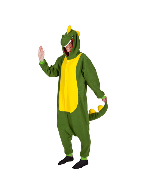dinosaur onesie fleece costume