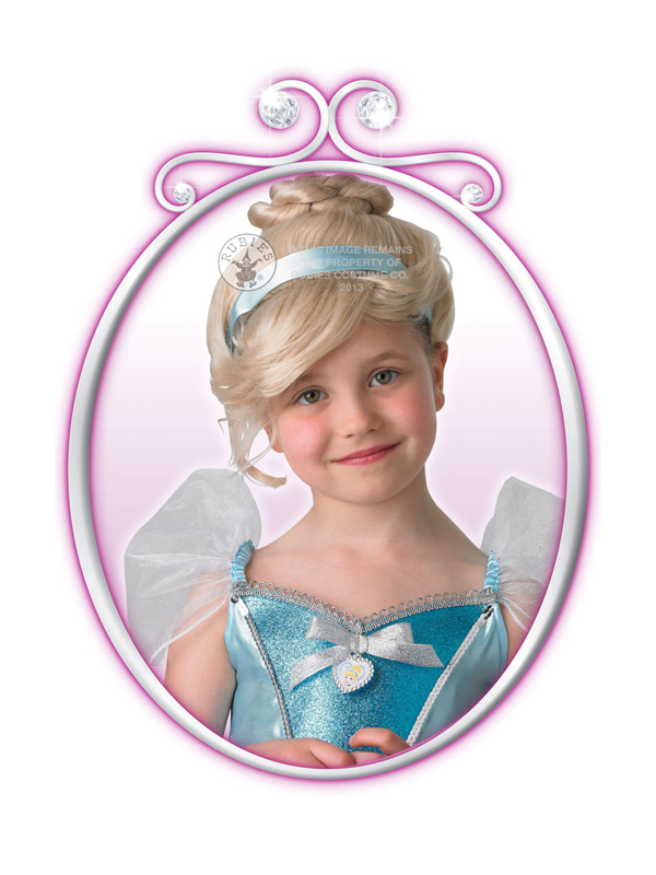 Child Disney Royale Cinderella Wig