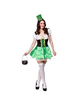 Ladies Cheeky Leprechaun Costume