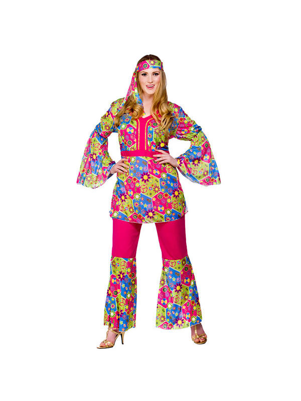 Feelin Groovy Hippy Costume Thumbnail 2