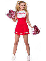 Ladies American High School Cheerleader