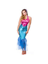 Ladies Fairy Tale Mermaid Costume