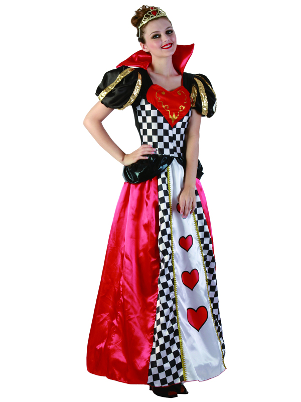 Ladies Fairy Tale Queen Of Hearts Costume