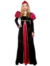 Ladies Queen Medieval Costume