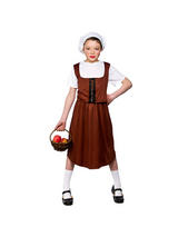 Girl's Tudor Girl Costume