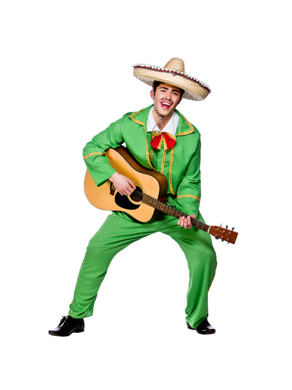 Men's Mexican Tortilla Guy Costume
