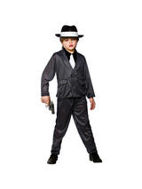 Boy's Gangster Wise Guy Costume