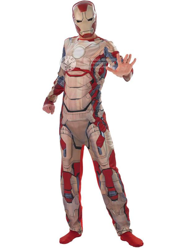 Iron man classic costume mask avengers plymouth - Masque iron man adulte ...
