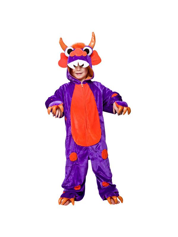 Child's Purple Mini Monster Costume