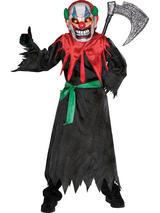 Boy's Scary Clown Costume