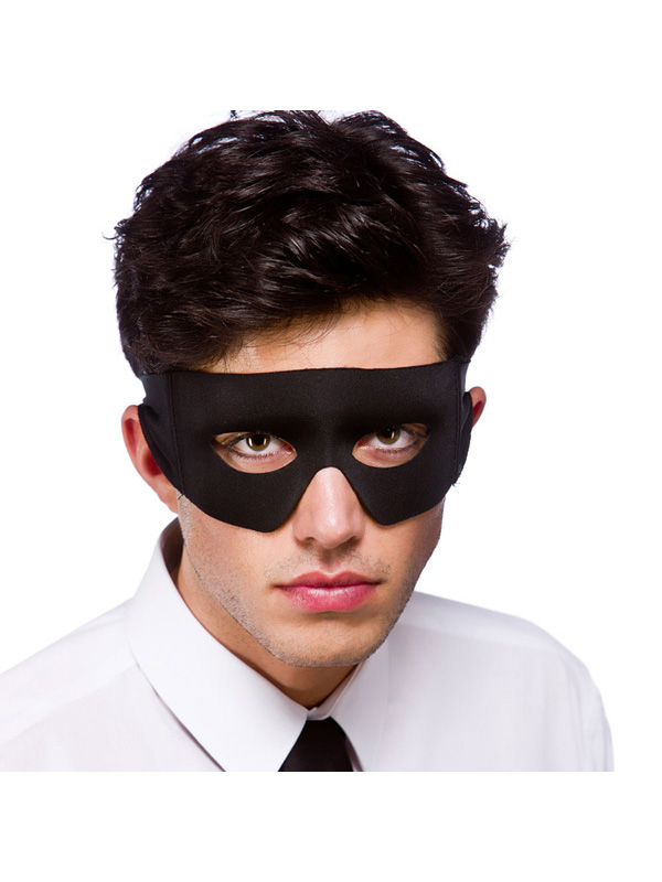 Bandit Eye Mask - Black