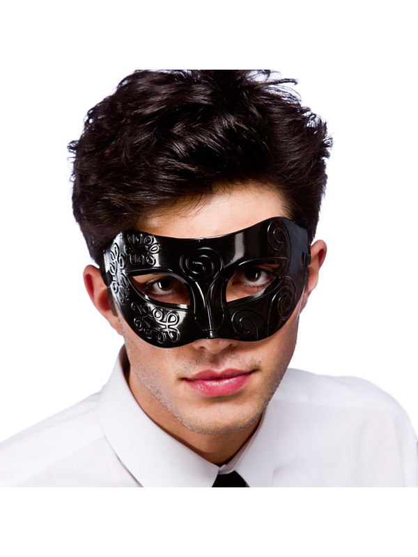 Venetian Black Eye Mask