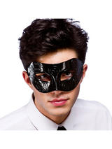 Venetian Black Eye Mask