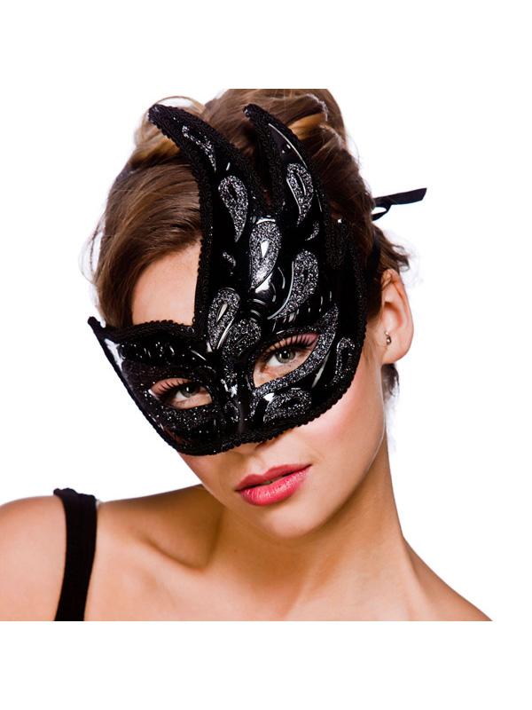 Livorno Eye Mask -  Black