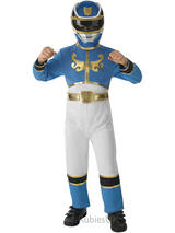Boy's Power Ranger Mega Force Blue Costume
