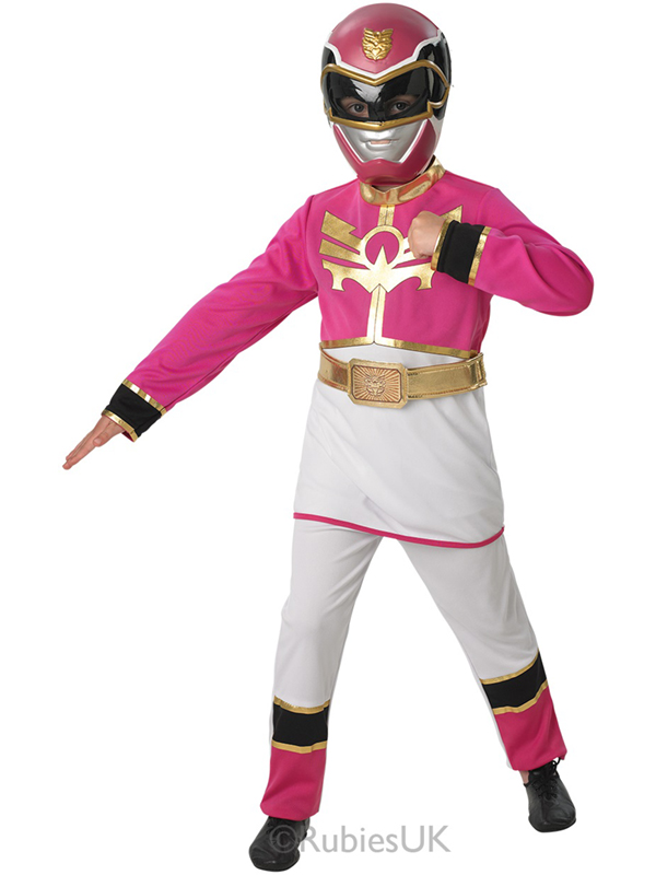 Child Pink Power Ranger Mega Force Costume  sc 1 st  Plymouth Fancy Dress & Child Pink Power Ranger Mega Force Costume | Superheroes u0026 Super ...