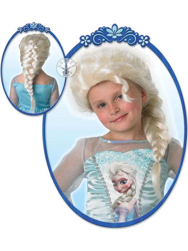 Child Disney Elsa Wig Costume