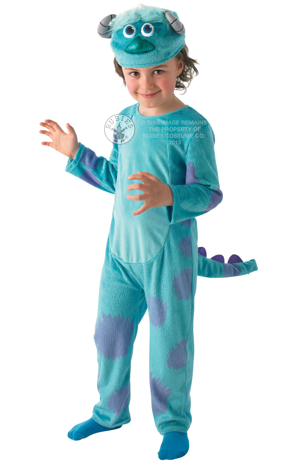 Monsters University Inc Sulley Boy's Costume