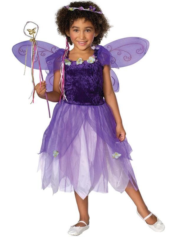 Child Plum Pixie Costume