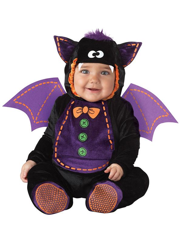 Child-Infant-Bat-Outfit-Fancy-Dress-Costume-Halloween-  sc 1 st  eBay & Child Infant Bat Outfit Fancy Dress Costume Halloween Animal Kids ...
