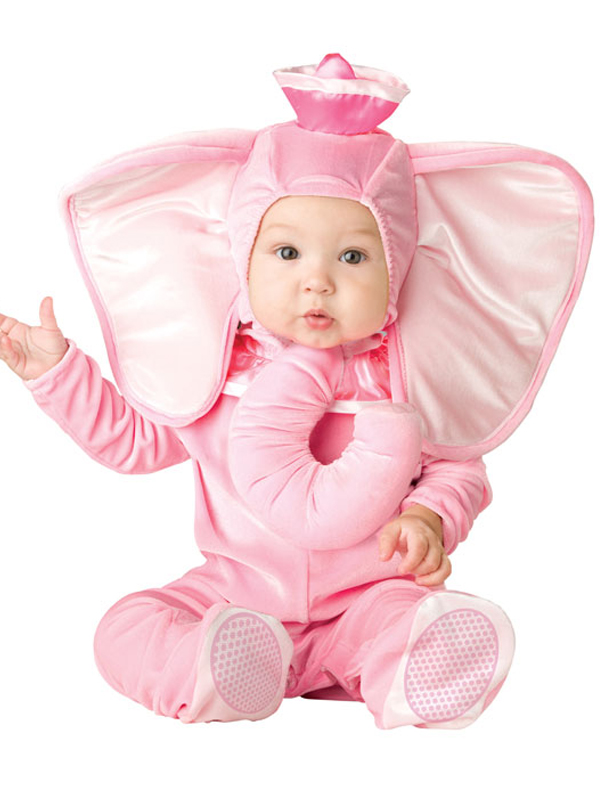 Infant's Pink Elephant Costume