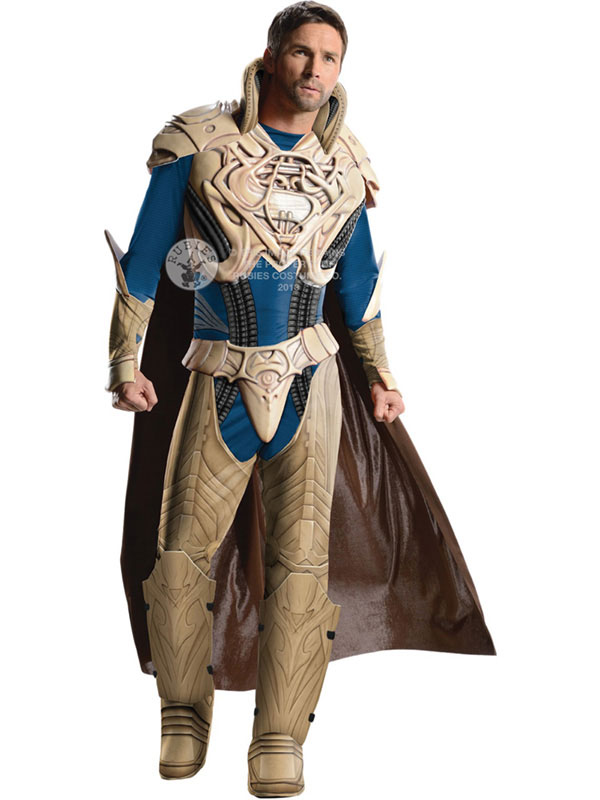 Men's Deluxe Jor-El Man of Steel Costume
