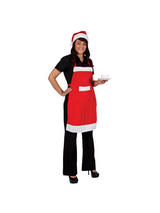Santa Apron And Hat Set