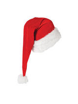 Deluxe Extra Long Santa Hat