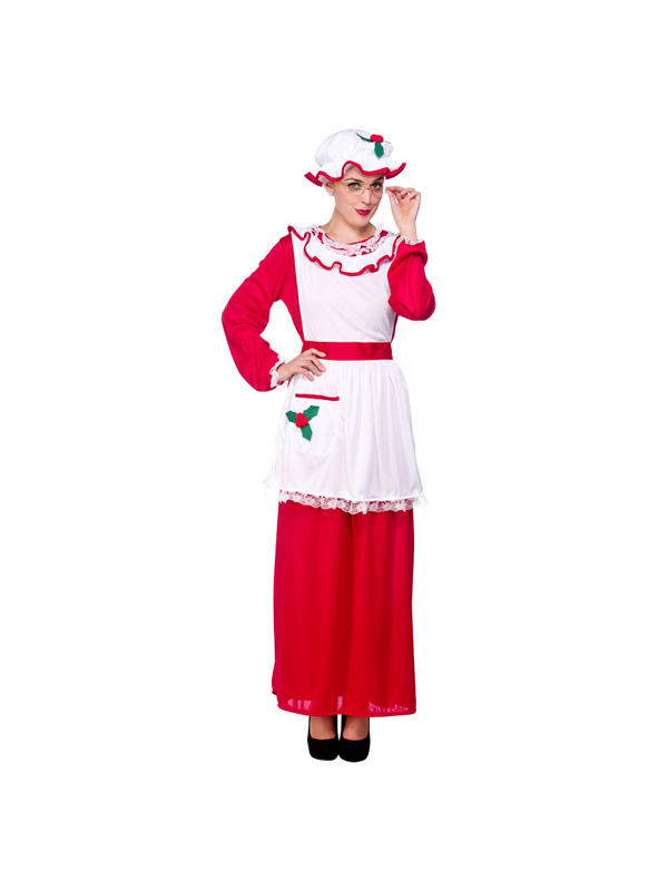 Mrs Santa Clause Costume Thumbnail 1