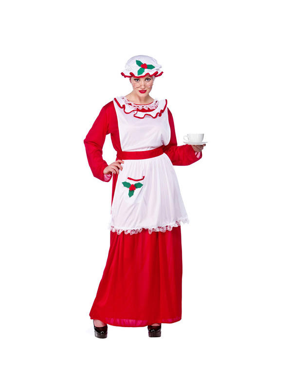 Mrs Santa Clause Costume Thumbnail 2