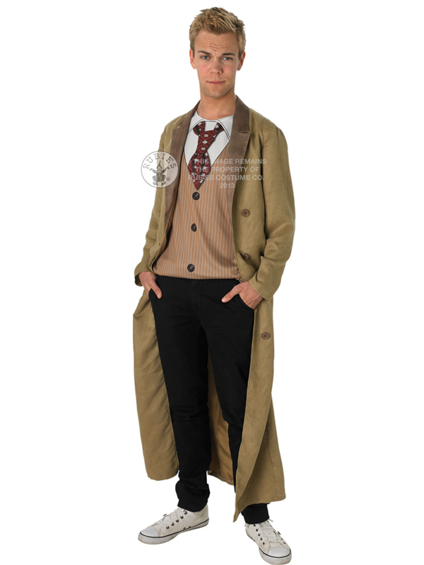 Adult Dr Who 10Th Doctor David Tennant Outfit Fancy Dress Costume Gents Male | eBay