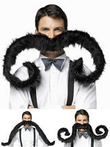 "60"" Super 'Stache Moustache"