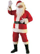 Classic Santa Flannel Suit