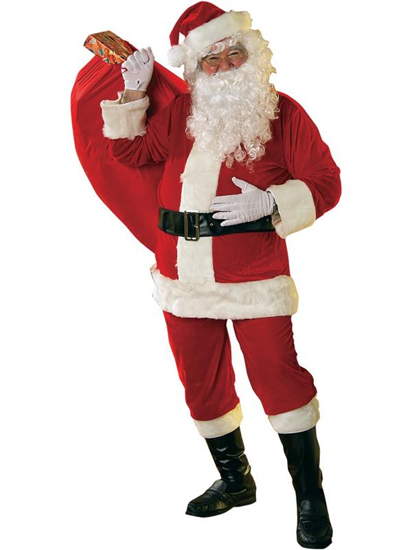Velour Santa Suit