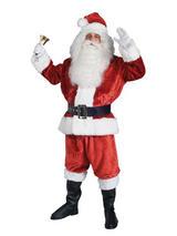 Crimson Imperial Santa Suit