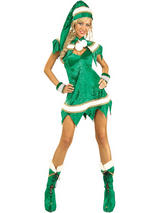 Velvet Sexy Miss Elf