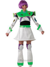 Disney Ladies Miss Lightyear Costume