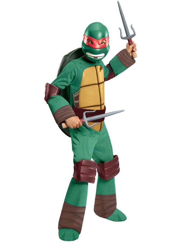 Child's TMNT Raphael Deluxe Costume