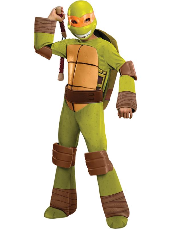 Child's TMNT Michelangelo Deluxe Costume